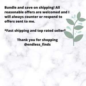 Bundle items to save on shipping!